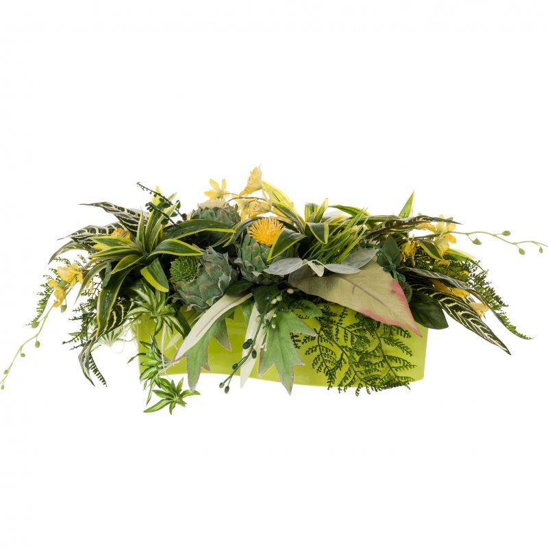 Искусственные цветы для кашпо купить
